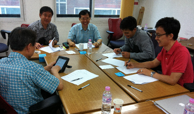 Korean Missionary Trainers Sharing Together